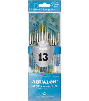 Aqualon Value Pack Brush Set 13 Pack-Round