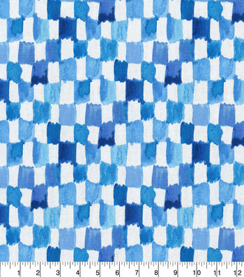 Kelly Ripa Home Upholstery Swatch 13''x13''-Bluejay Applause