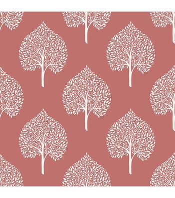 WallPops NuWallpaper Coral Grove  Peel  & Stick Wallpaper