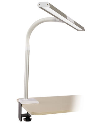 OttLite Extra Wide Area LED Clamp Lamp