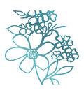 Couture Creations Le Petit Jardin Hotfoil Stamp-Floral Arrangement #1