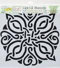 Crafter\u0027s Workshop Carmen Medlin Template 12\u0027\u0027x12\u0027\u0027-Celtic Knot