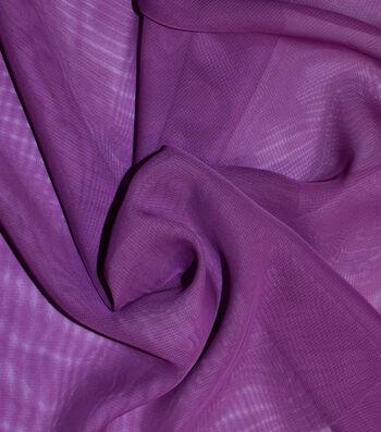 Casa Gardenia Chiffon Fabric 58''-Deep Orchid
