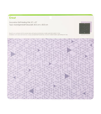 Cricut 12''x12'' Decorative Self-Healing Mat-Lilac