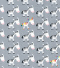 Snuggle Flannel Fabric -Just Be You Zebra