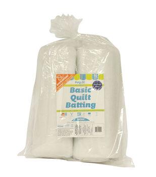 "Poly-Fil Basic Quilt Batting 72"" x 90"" - 2 pack"