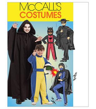 McCall's Pattern M5952 Children's Hero Costumes
