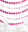 Cheer & Co. 13 pk 6\u0027 Party Backdrops-Bright Pink