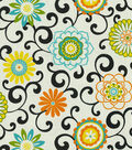 Waverly Upholstery Fabric 54\u0022-Pom Pom Play Confetti