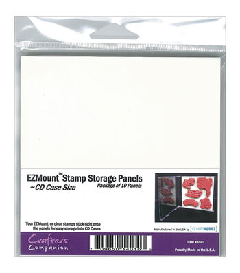 Crafter's Companion EZMount CD Case Storage Panels