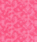 Keepsake Calico Cotton Fabric-Pink Textured Vines