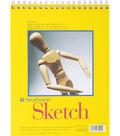 Strathmore Sketch Spiral Paper Pad 9\u0022X12\u0022-100 Sheets
