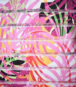 Fast Fashion Burnout Spandex Fabric-Multi Color Paradise
