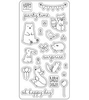 Lia Griffith Clear Stamps-Woodland Party, , hi-res