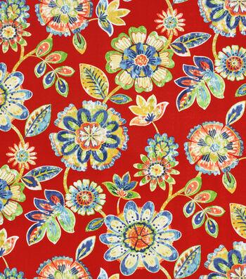 Solarium Outdoor Fabric 54''-Red Jessica