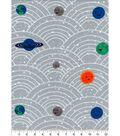 Nursery Flannel Fabric 42\u0027\u0027-Outerspace Planets