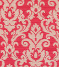 Home Decor 8\u0022x8\u0022 Swatch Fabric-Waverly Kenwood Damask Strawberry