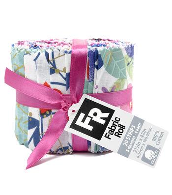 """Quilt Fabric Roll 2.5""""-Priscilla"""