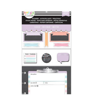 Happy Planner Note Cards/Sticky Note Multi Pack-Chalkboard (teacher)