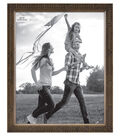 Wood & Glass Picture Frame 8\u0027\u0027x10\u0027\u0027-Thin Rustic Romance