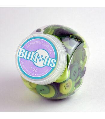 Jar O Buttons-Green