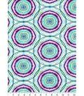 Luxe Flannel Fabric -Boho Circles