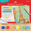 Faber-Castell Museum Series Paint By Number Kit-The Eiffel Tower