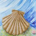 Leisure Arts Diamond Art Intermediate Kit 12\u0027\u0027X12\u0027\u0027-Shell