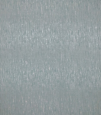 """Save The Date Linear Jacquard Fabric 57""""-Icy Blue & Silver"""
