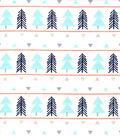 Nursery Flannel Fabric-Eamon Trees