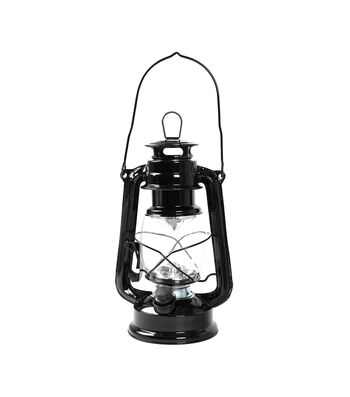 Camp Ann LED Lantern with Handle-Black