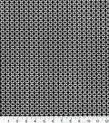 Quilters Showcase Cotton Fabric-Geo Black