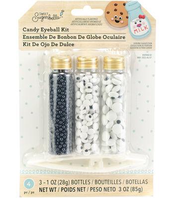 Sweet Sugarbelle 1 oz. Candy Eyeball Decorating Kit