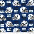 Indianapolis Colts Cotton Fabric -Helmet Logo
