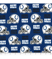Indianapolis Colts Cotton Fabric -Helmet Logo, , hi-res