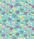 Premium Cotton Fabric 43\u0027\u0027-Raining Tulips
