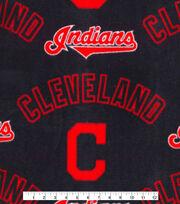 Cleveland Indians Fleece Fabric -New Block C, , hi-res