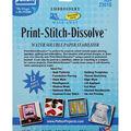 Print-Stitch-Dissolve Embroidery Paper Stabilizer-White 8.5\u0022X11\u0022