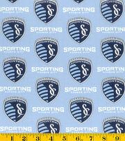 Sporting Kansas City Cotton Fabric -Logo, , hi-res