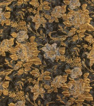 Puffed Metallic Jacquard Fabric