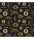 Boston Bruins Cotton Fabric -Logo