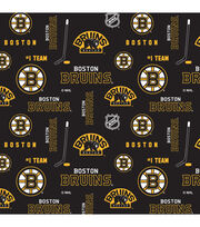 Boston Bruins Cotton Fabric -Logo, , hi-res