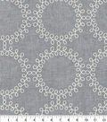Waverly Multi-Purpose Fabric-Ready to Roll Embroidery Thunder