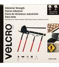 VELCRO Industrial Strength Peel & Stick Tape 25mmX15m-Black