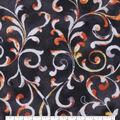 Keepsake Calico Cotton Fabric-Brown Tonal Vines