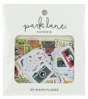 Park Lane Paperie 65 pk Washi Flakes-Travel, , hi-res