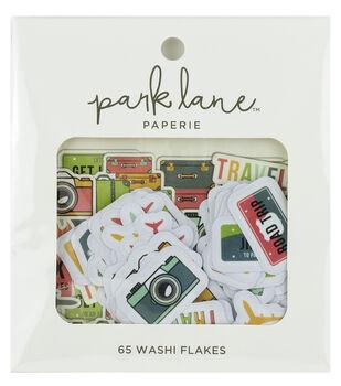 Park Lane Paperie 65 pk Washi Flakes-Travel