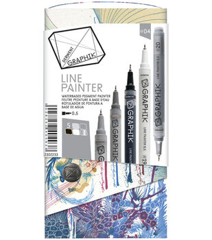 Derwent Graphik Line Painter Set-Greys