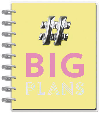 The Happy Planner Classic Dated Planner-Big Plans