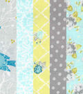 Jelly Roll Cotton Fabric 20 Strips 2.5\u0027\u0027-Springtime Birds & Dots
